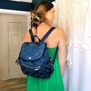 ❗FLASH SALE ❗Coach Kyra Daisy Jacquard Backpack